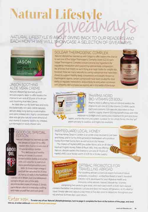 Natural Lifestyle Magazine- Artical