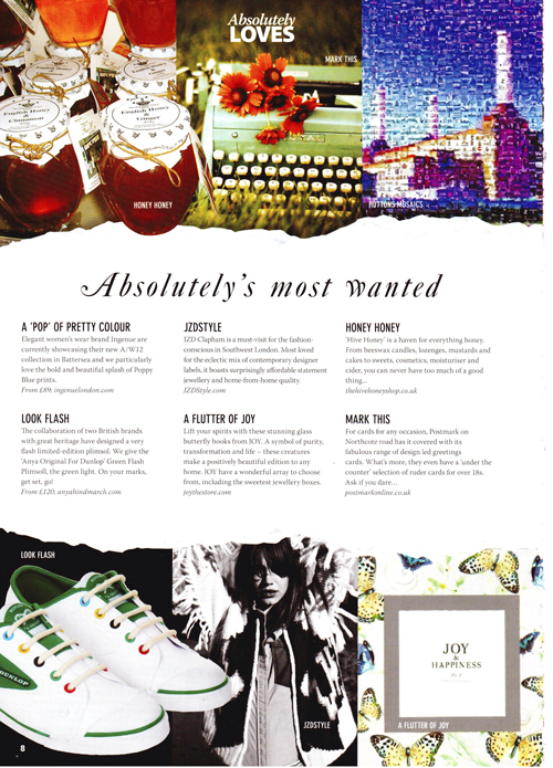 Absolutely Magazine Oct 2012-feature