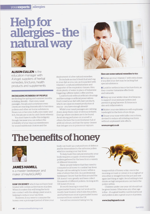 Your Healthy Living April 2013-artical