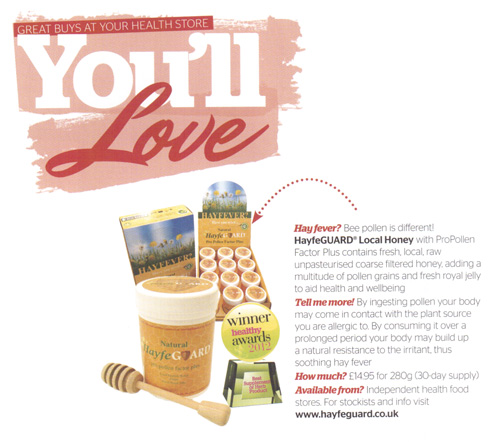 Your Healthy Living Magazine, July 2013- article