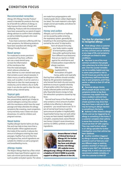 Natural Pharmacy Magazine-April 2018 Article