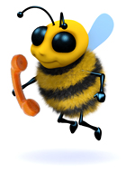 Bernie -the -Bee -with -Phone